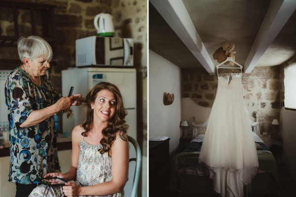 country chic wedding in tuscany | Bride Getting Reay