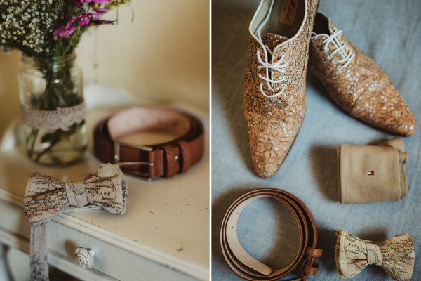 country chic wedding in tuscany | Groom Getting Reay