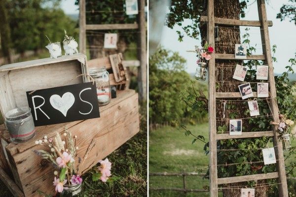 country chic wedding in tuscany | Country Chic Party setup